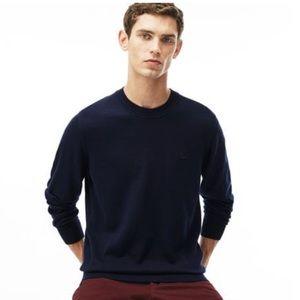 Lacoste Crewneck Long Sleeve Jersey Sweater